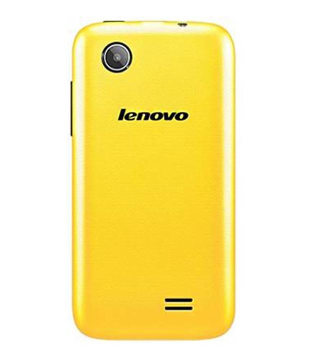 Lenovo A369i 4 GB Yellow Mobile