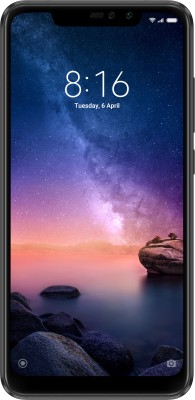 Redmi Note 6 Pro (64 GB, 6 GB RAM) Black Mobile