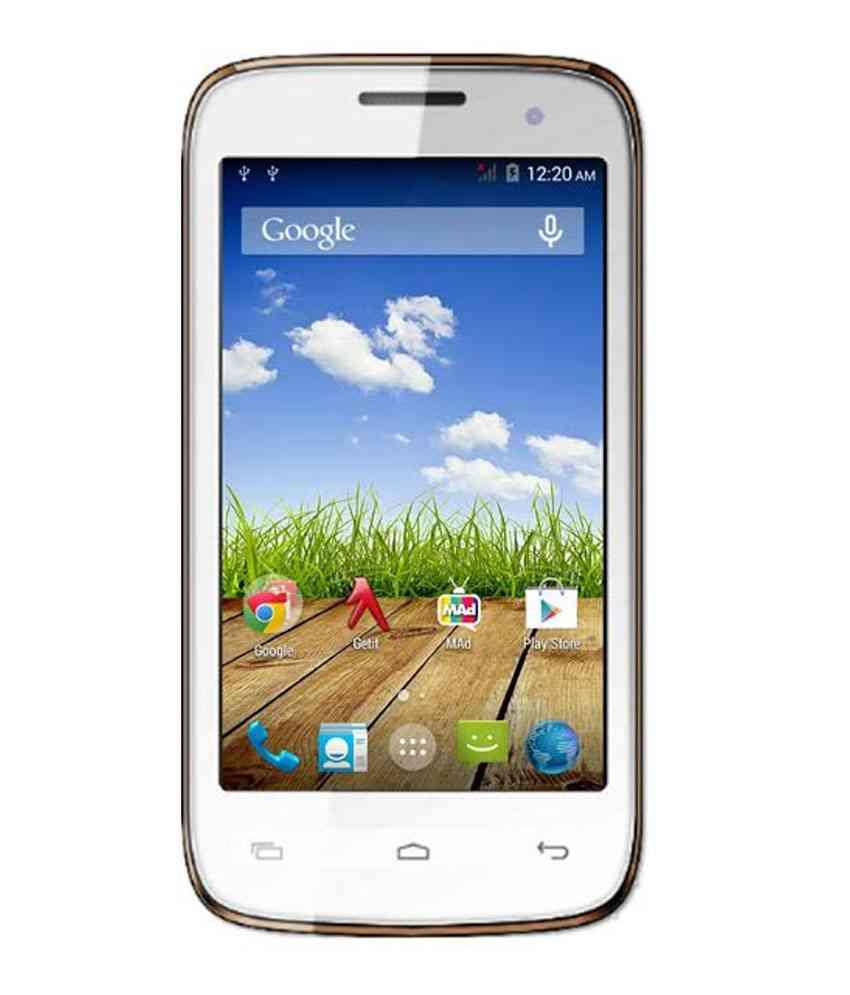 Micromax Bolt A065 4 GB White Mobile