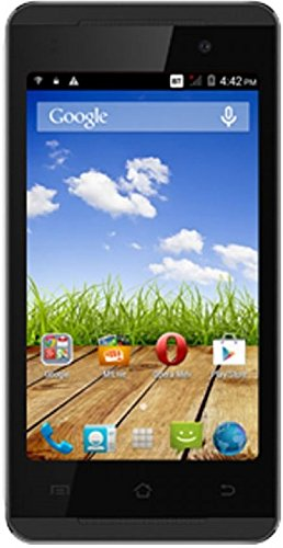 Micromax Canvas Fire A093 (Micromax A093) 4GB Black Gold Mobile