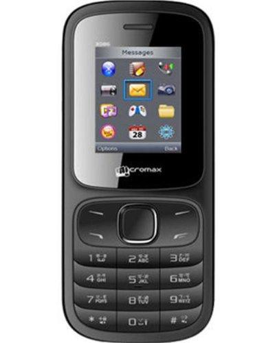 Micromax X086 Black Mobile
