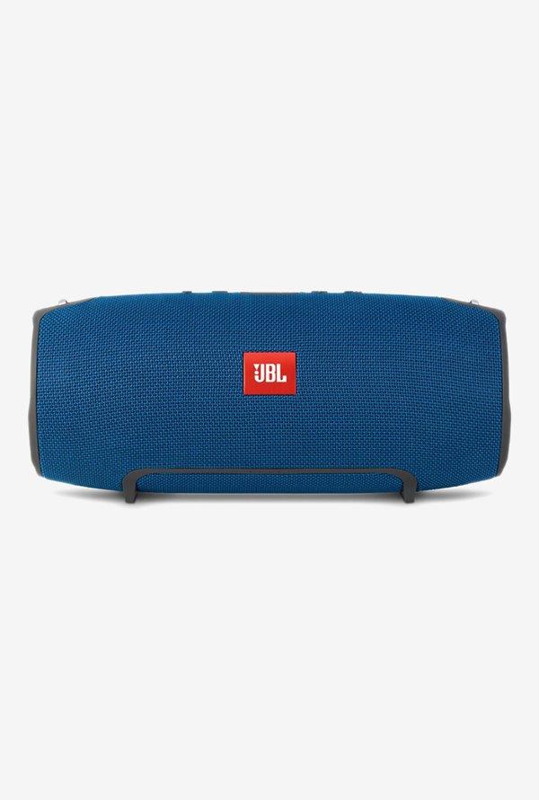 JBL Xtreme Splashproof Wireless Portable Bluetooth Speaker, Blue