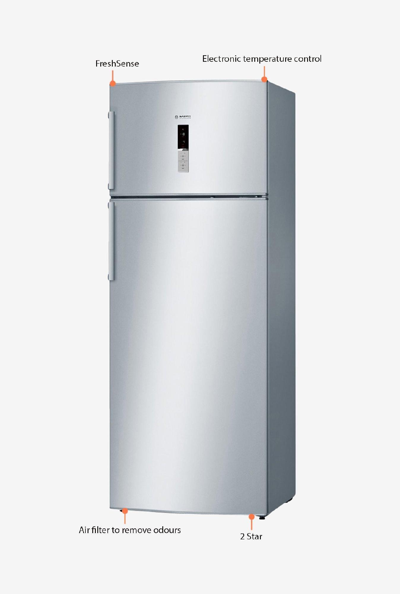 Bosch KDN53XI30I 454 L Double Door Refrigerator