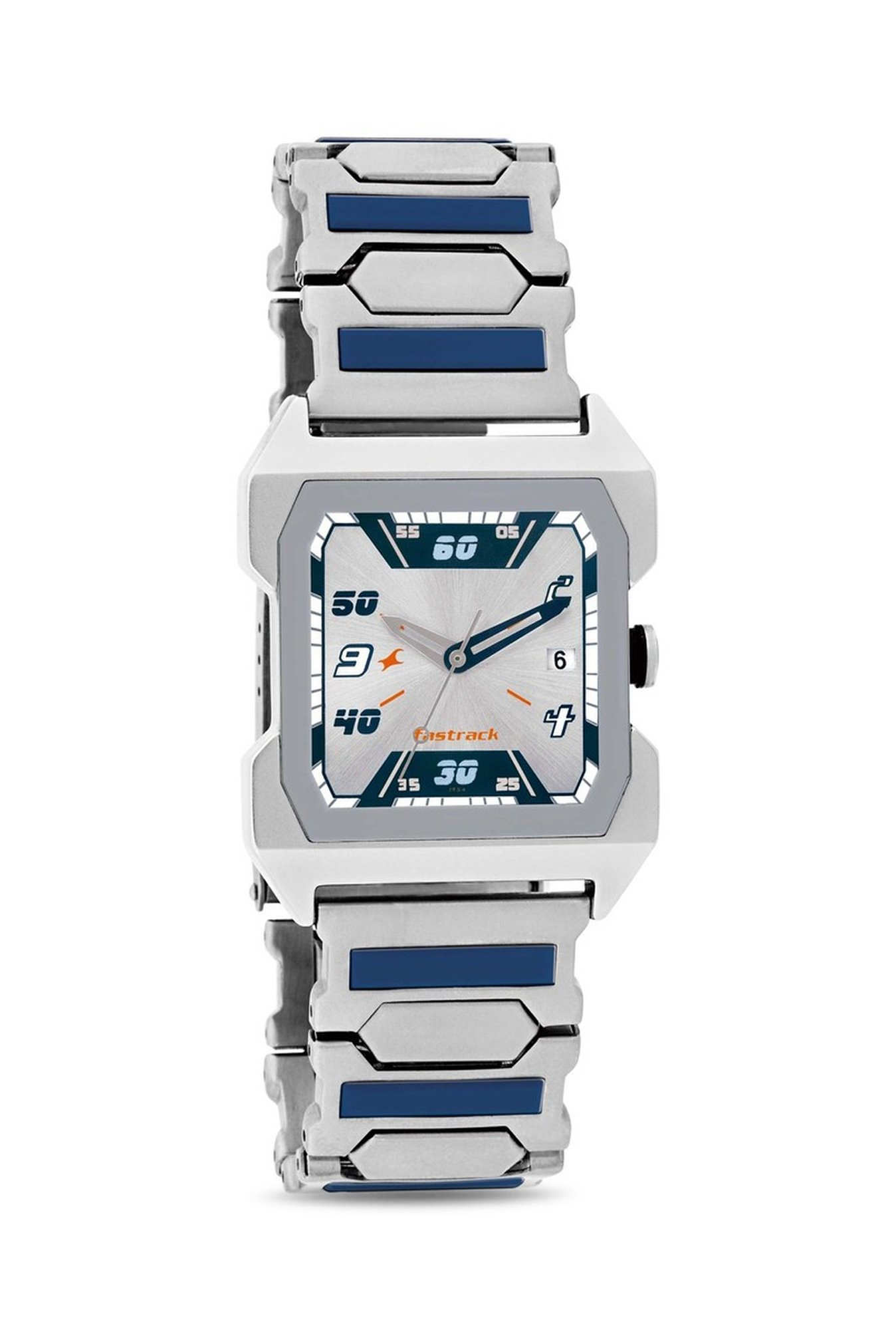 Fastrack 1474SM01 Party Analog White Dial Men's Watch (1474SM01)