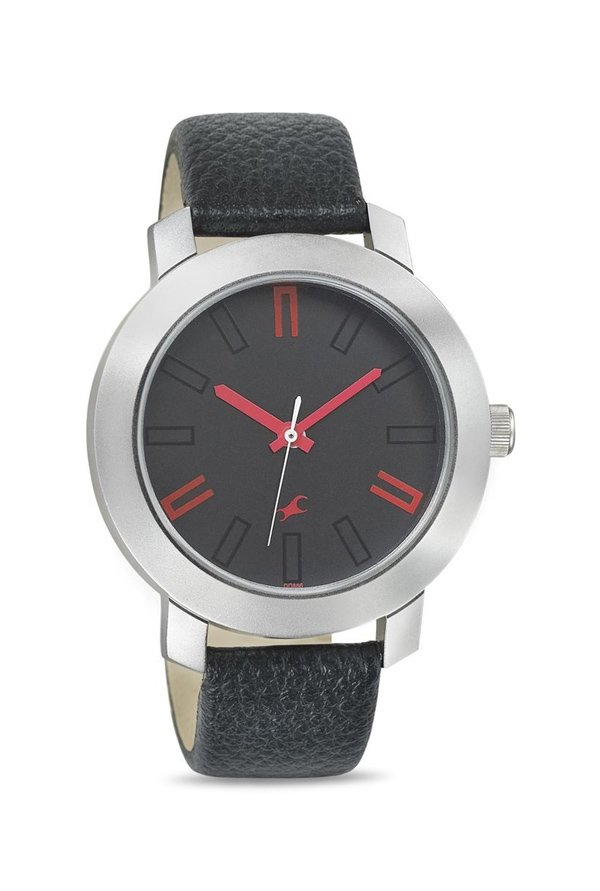 Fastrack 3120SL02 Casual Analog Black Dial Men's Watch (3120SL02)
