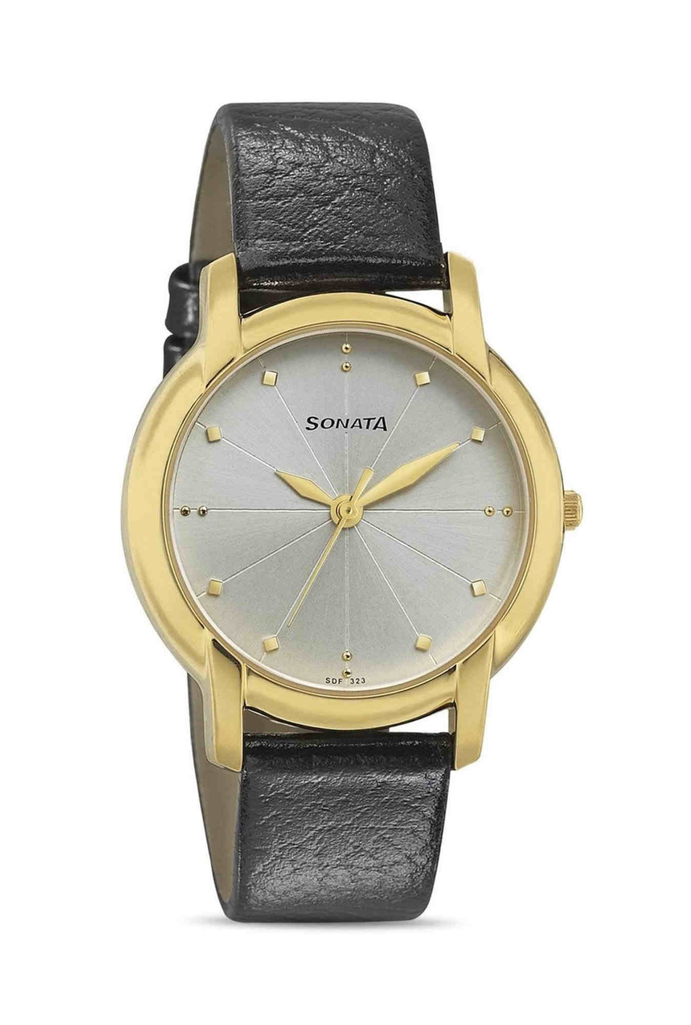 Sonata 7954YL07 Professional Analog White Dial Men's Watch
