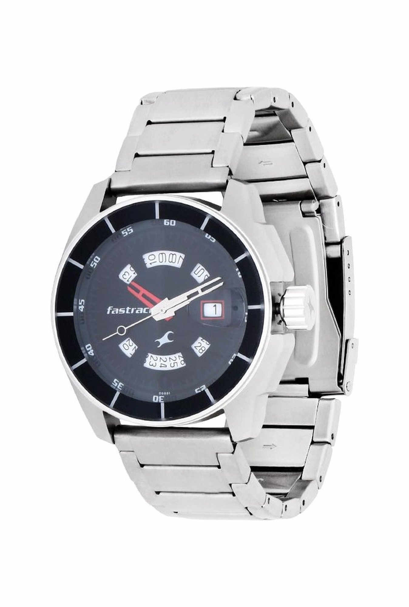 Fastrack 3089SM03 Black Magic Analog Black Dial Men's Watch (3089SM03)