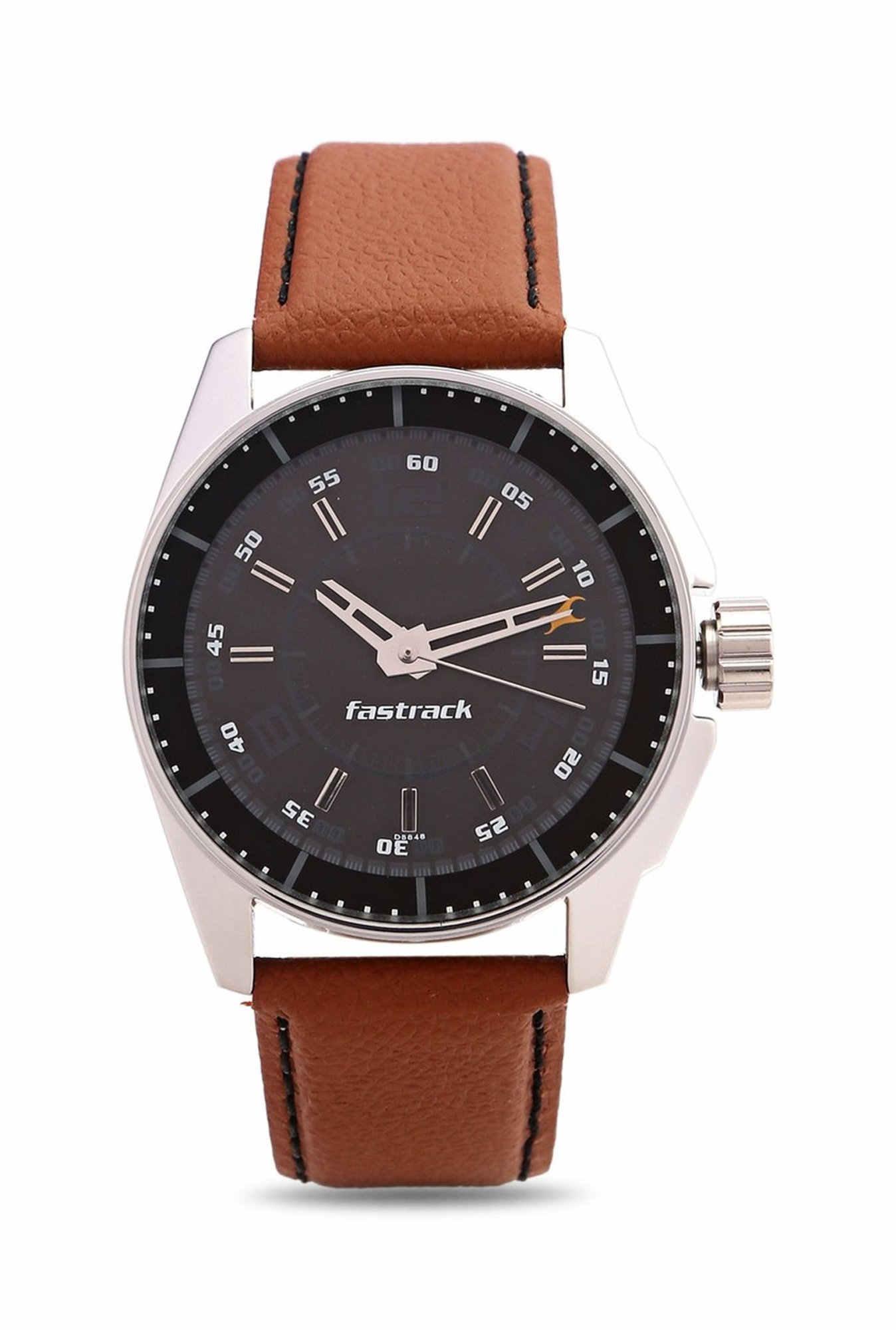 Fastrack NG3089SL05C Black Analogue Men's Watch (NG3089SL05C)