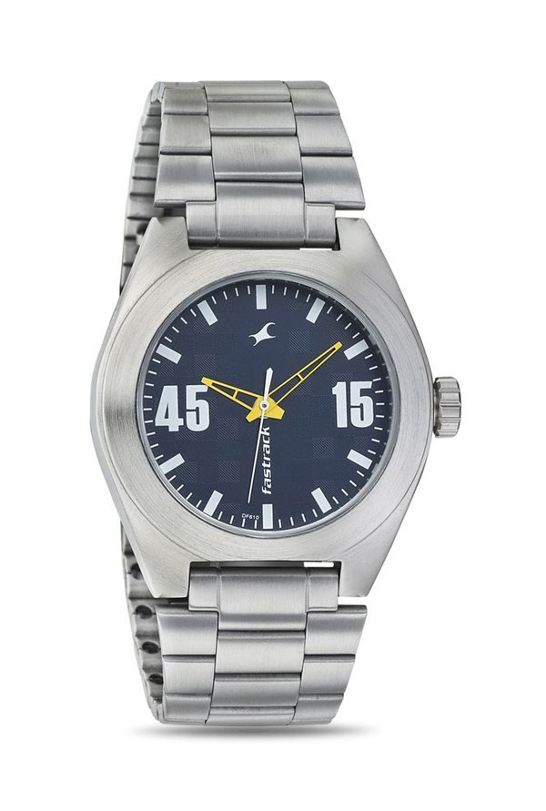 Fastrack NJ3110SM03 Bare Basics Analog Men's Watch