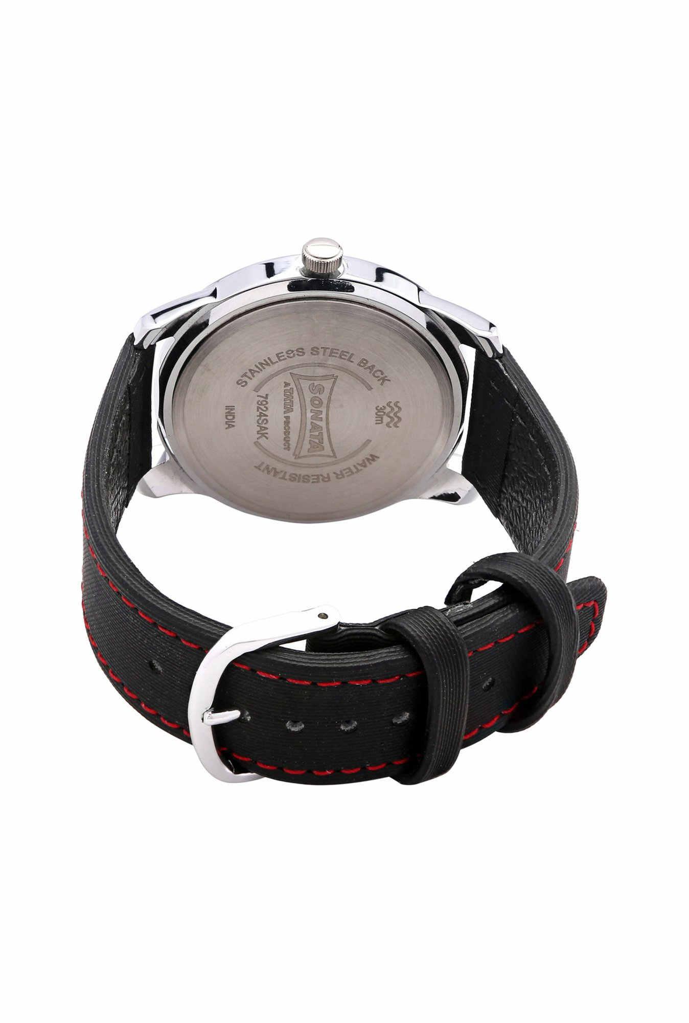 Sonata NH7924SL04C Yuva Analog Men's Watch (NH7924SL04C)