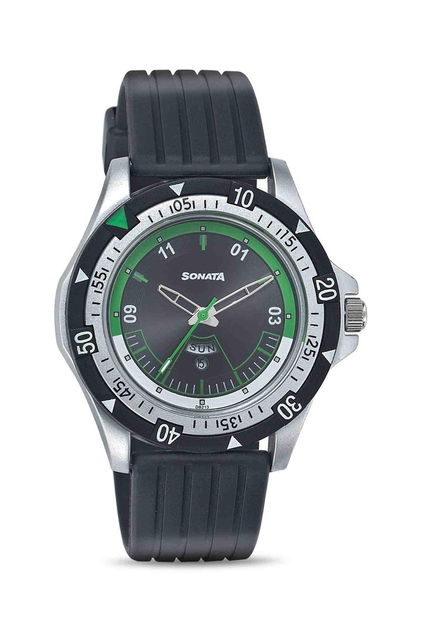 Sonata NF7930PP10J Super Fibre Analog Men's Watch