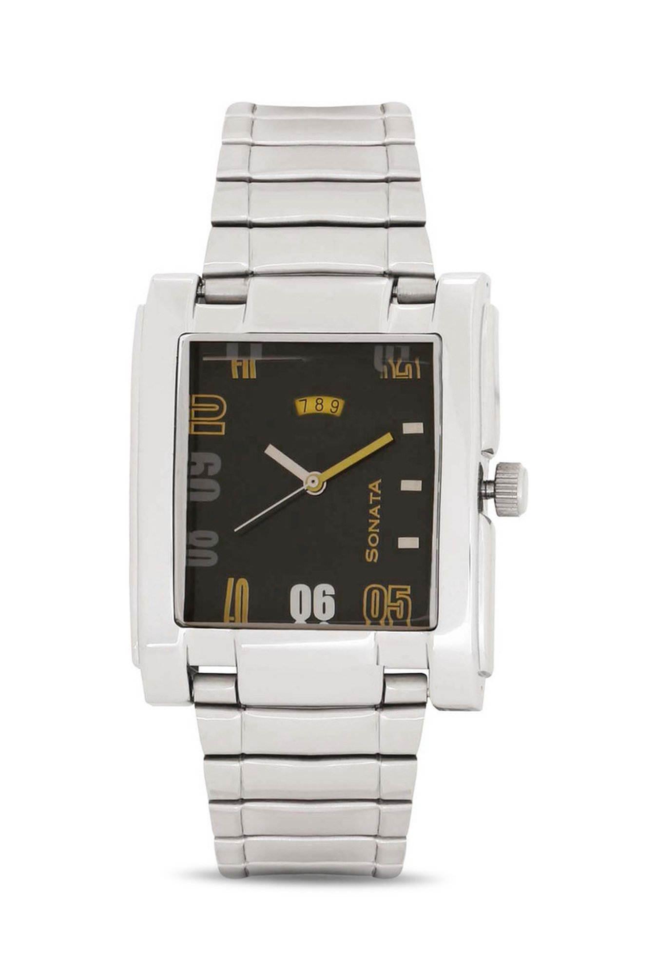 Sonata NG7946SM03A Yuva Analog Men's Watch
