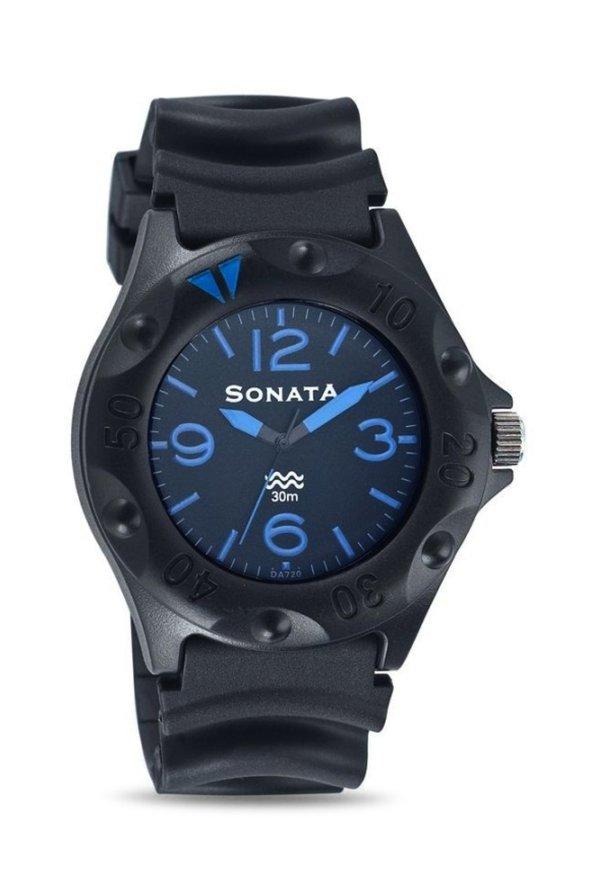 Sonata 7975PP04 Super Fibre Analog Men's Watch