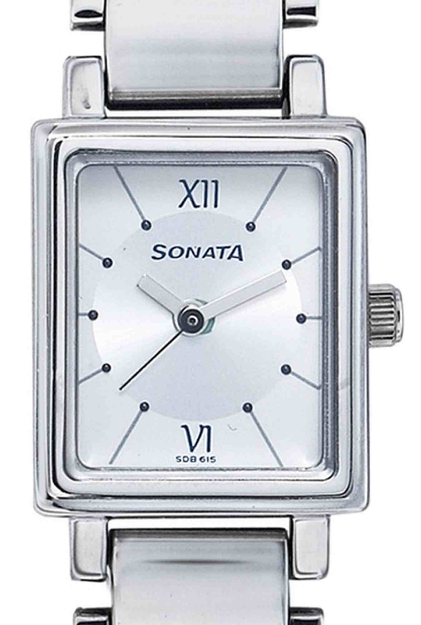 Sonata NF8080SM01C Sfal Analog Women's Watch