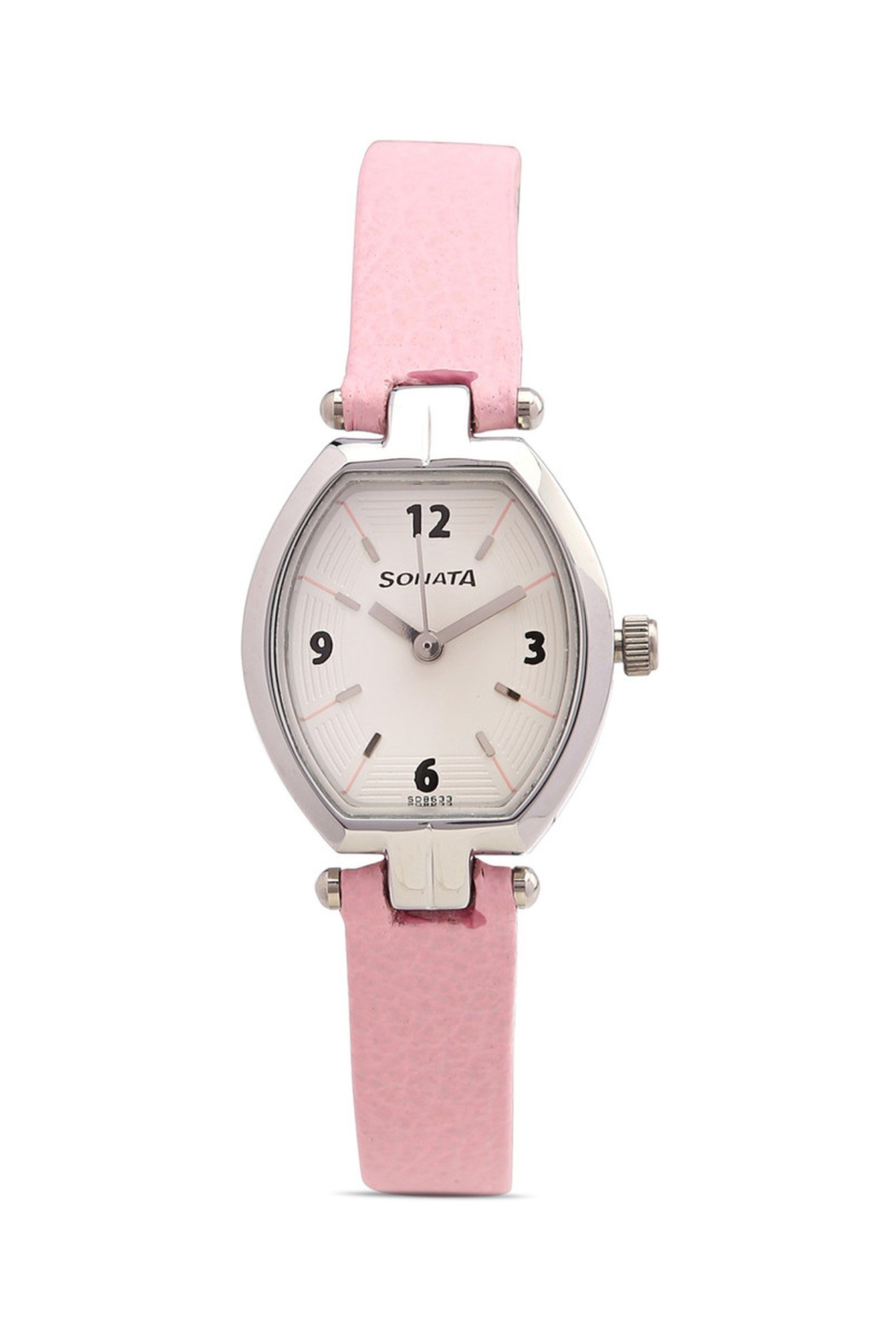 Sonata NF8083SL01C Analog White Dial Women's Watch (NF8083SL01C)