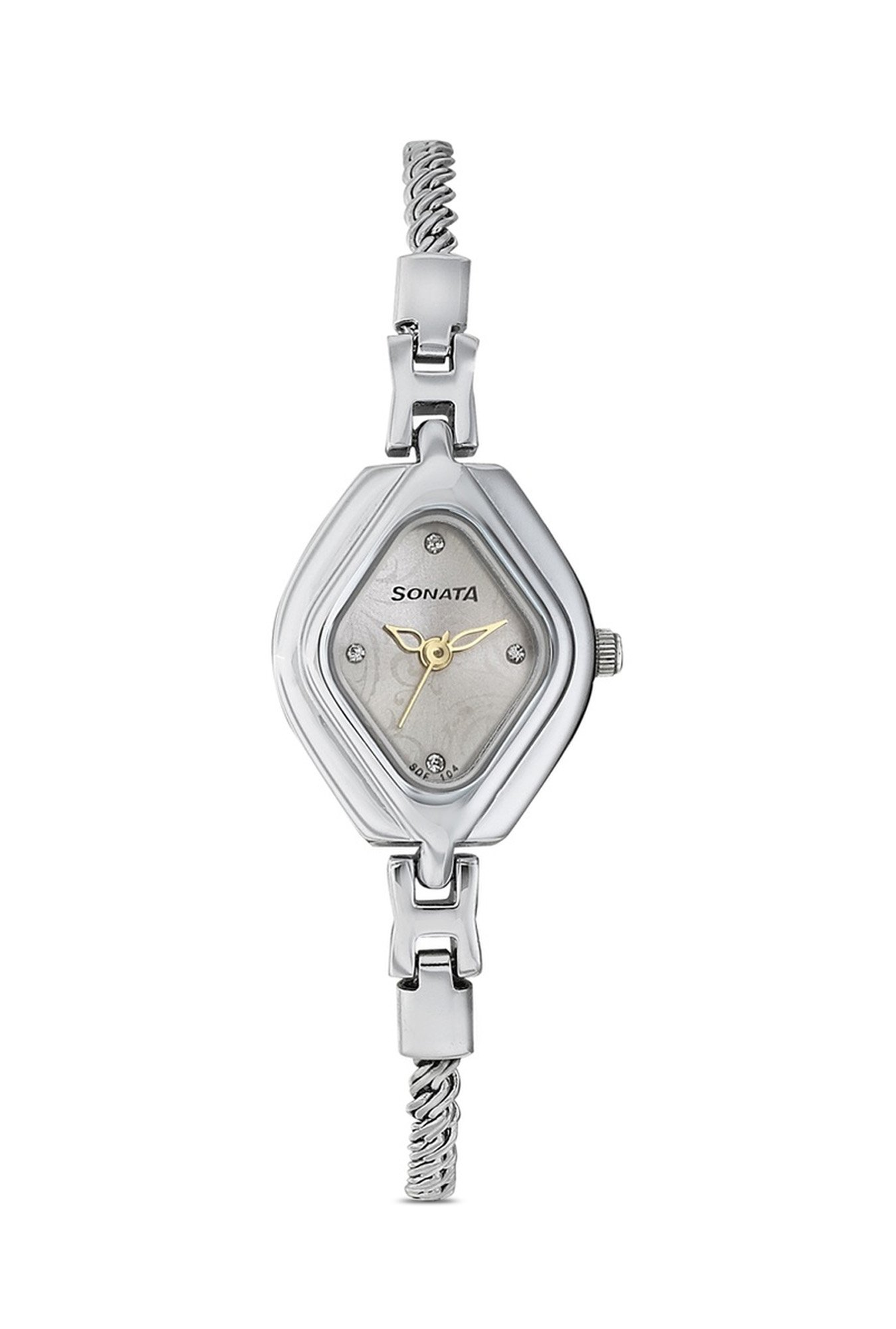 Sonata 87010SM01C Wedding Analog Women's Watch (87010SM01C)