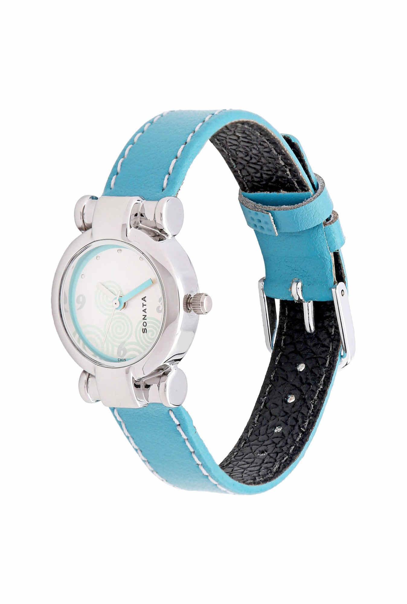 Sonata NF8944SL01CJ Yuva Analog White Dial Women's Watch (NF8944SL01CJ)