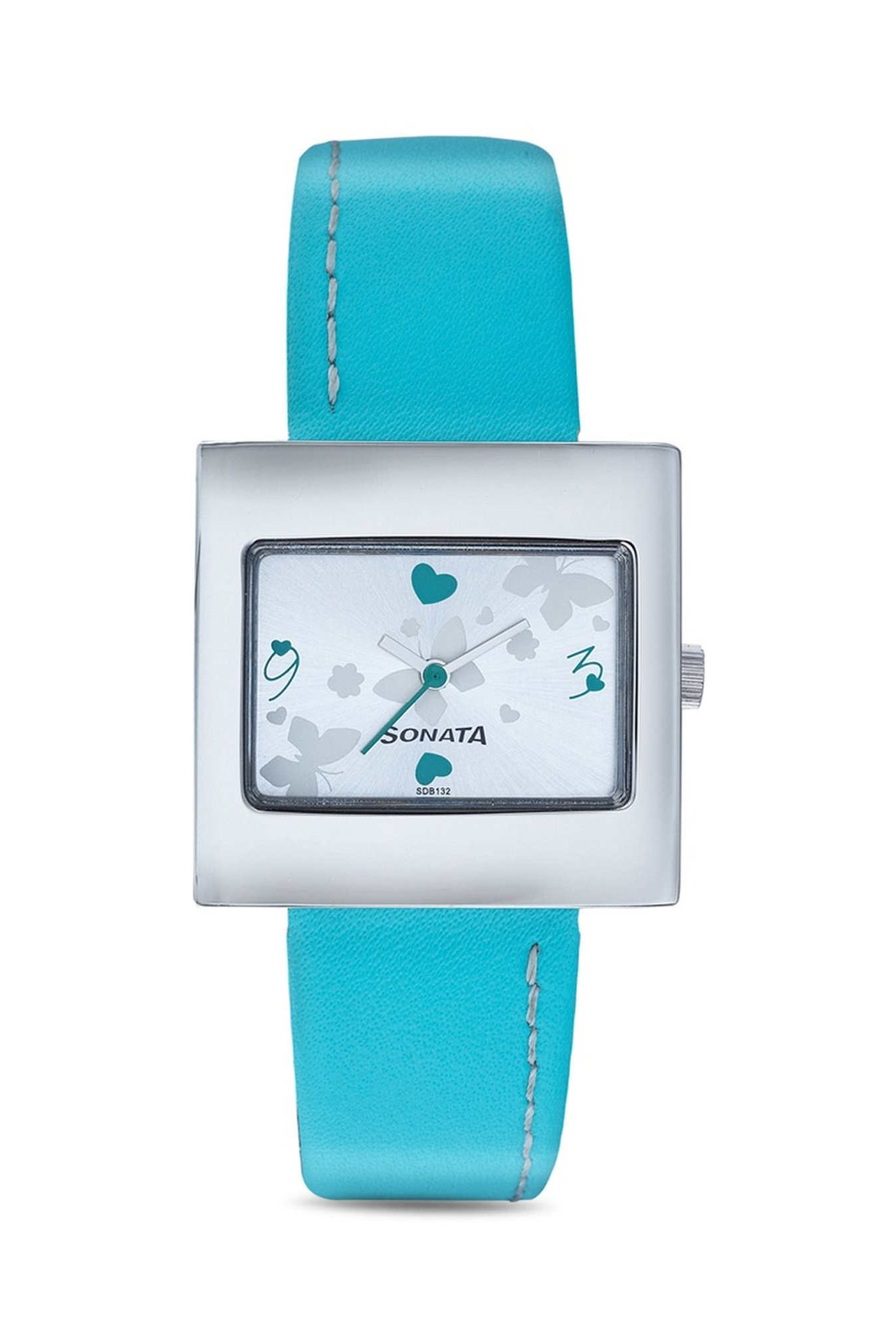 Sonata 8965SL01 Analog Multi Color Dial Women's Watch
