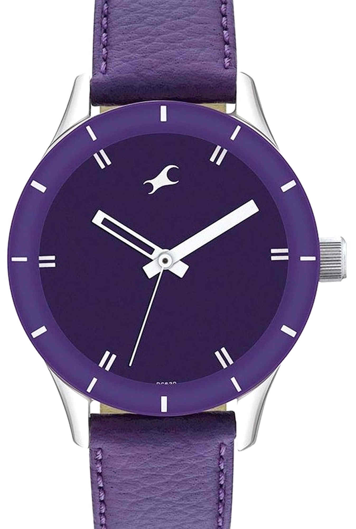 Fastrack 6078SL05 Monochrome Analog Women's Watch (6078SL05)
