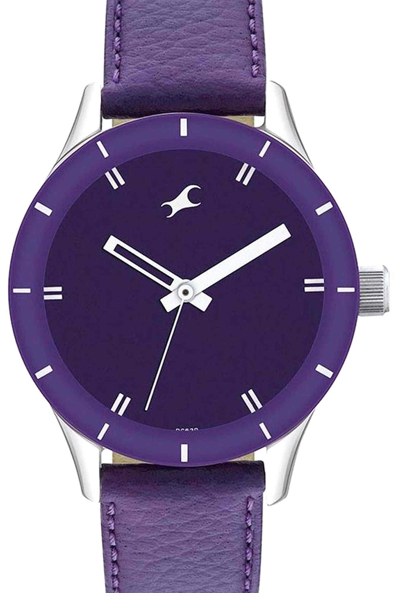 Fastrack 6078SL05 Monochrome Analog Women's Watch