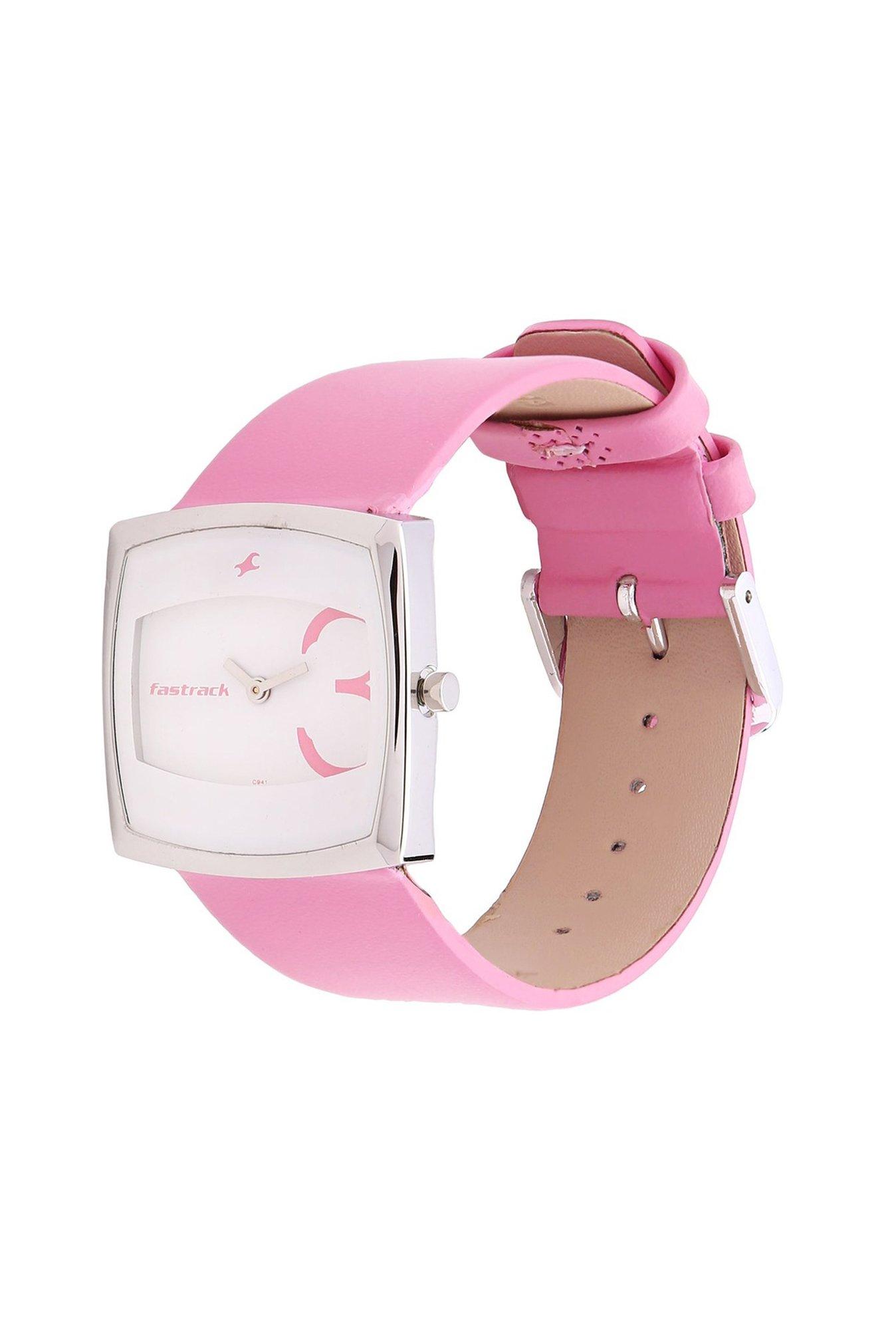 Fastrack NC6013SL01 Analog White Dial Women's Watch (NC6013SL01)