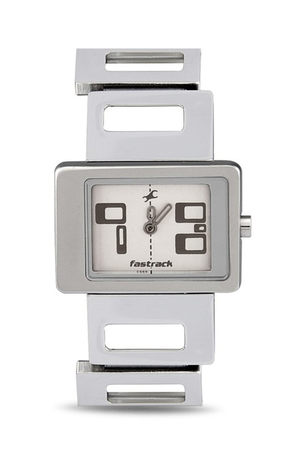 Fastrack NG2404SM01 Upgrade Party Analog White Dial Women's Watch