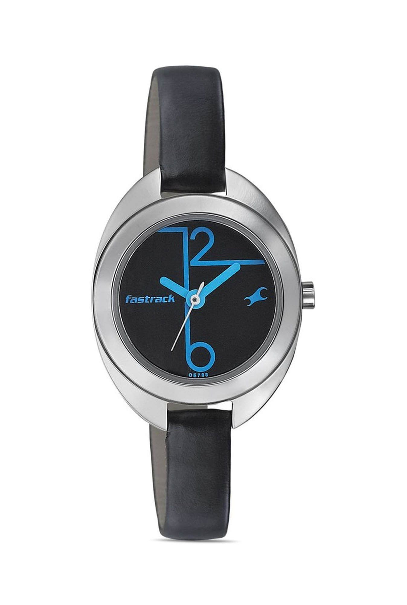 Fastrack NG6125SL01 Analog Black Dial Women's Watch (NG6125SL01)