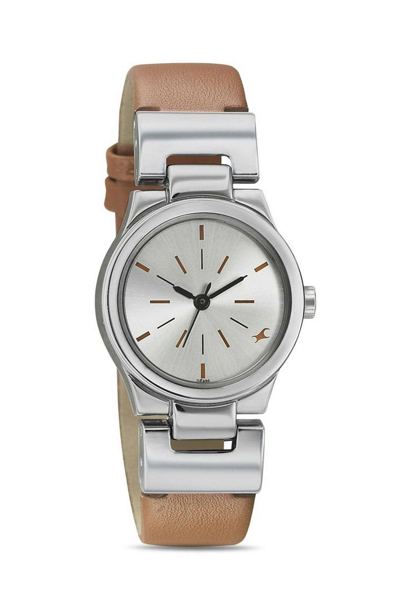 Fastrack 6114SL01 Analog Silver Dial Women's Watch (6114SL01)