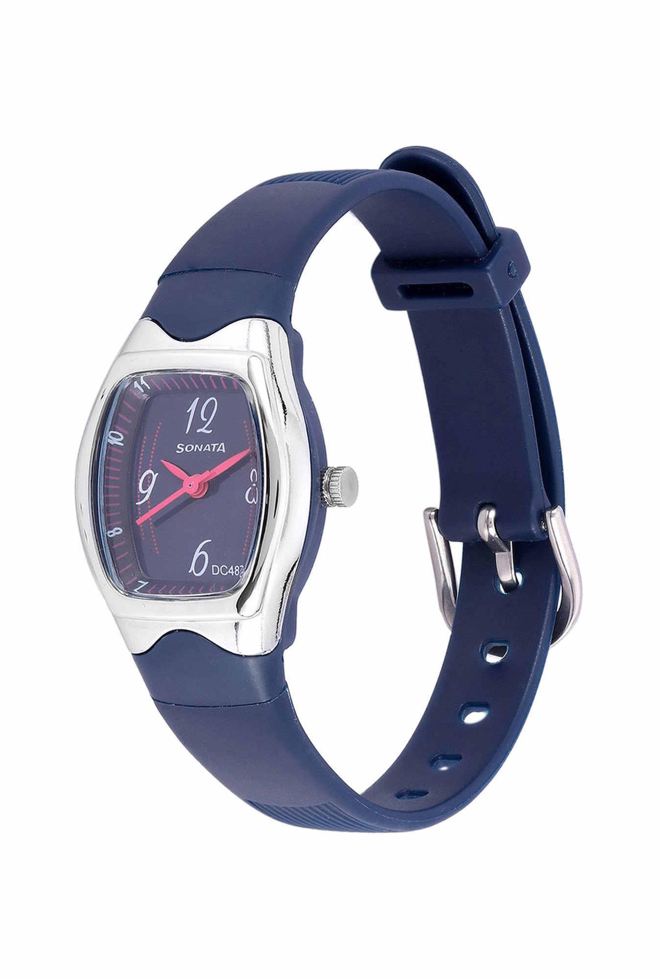 Sonata NH8989PP04J Analog Blue Dial Women's Watch