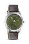 Sonata 7924SL09 Analog Green Dial Men's Watch