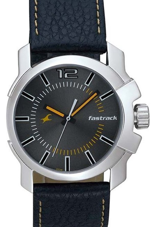 Fastrack NG3097SL01C Midnight Party Analog Black Dial Men's Watch (NG3097SL01C)