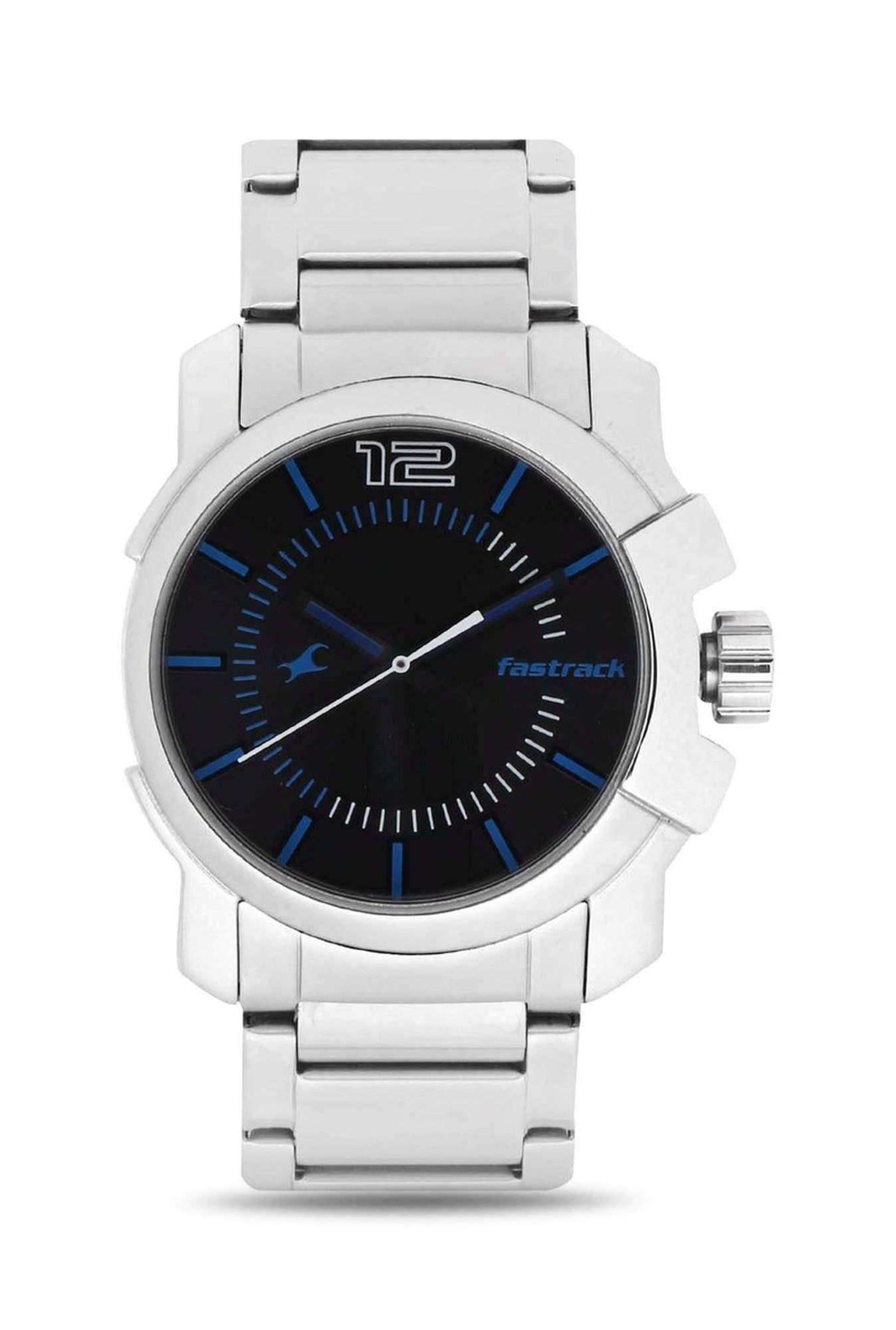 Fastrack NG3097SM01C Party Analog Black Dial Men's Watch (NG3097SM01C)