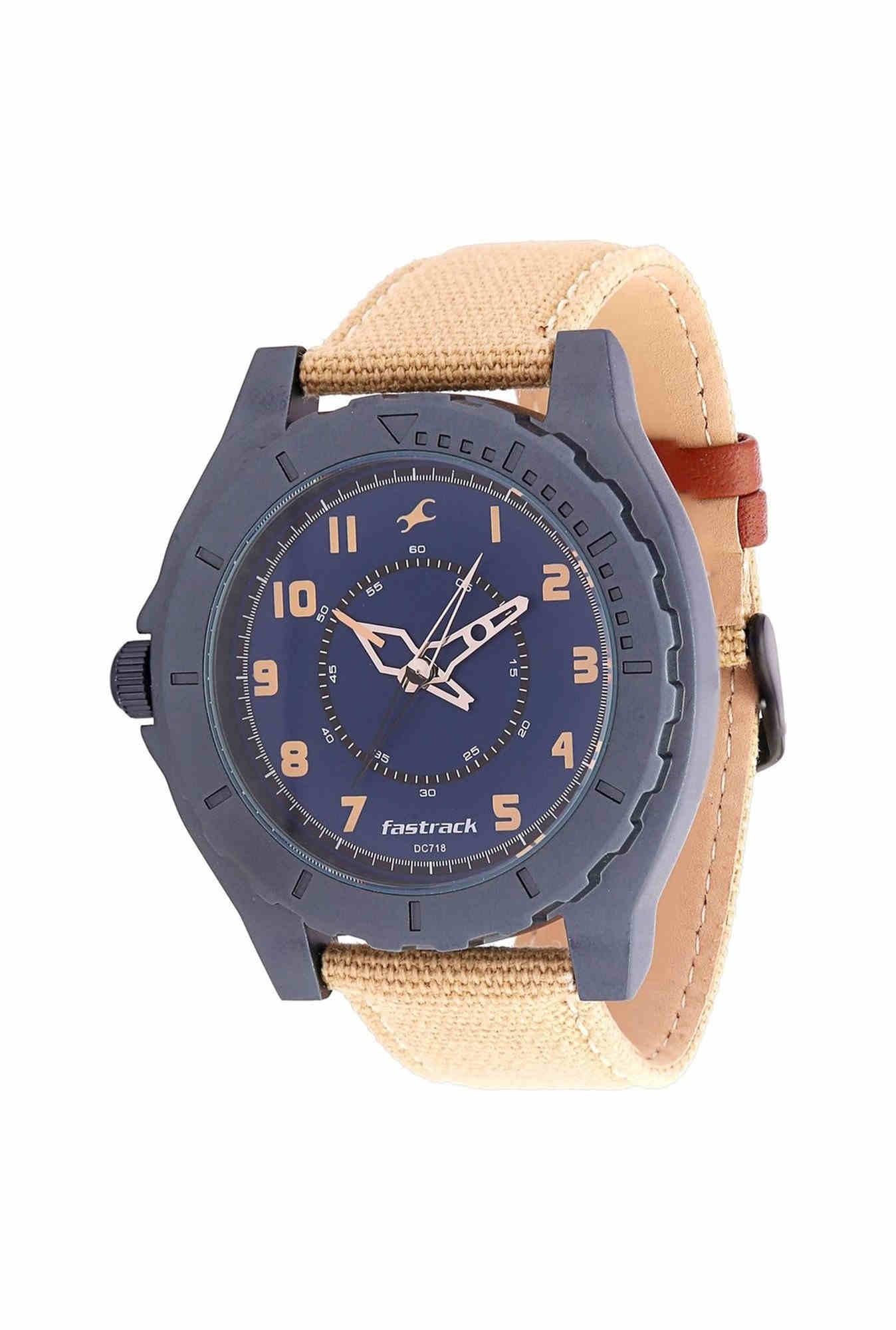 Fastrack NG9462AL01 OTS Explorer Analog Blue Dial Men's Watch
