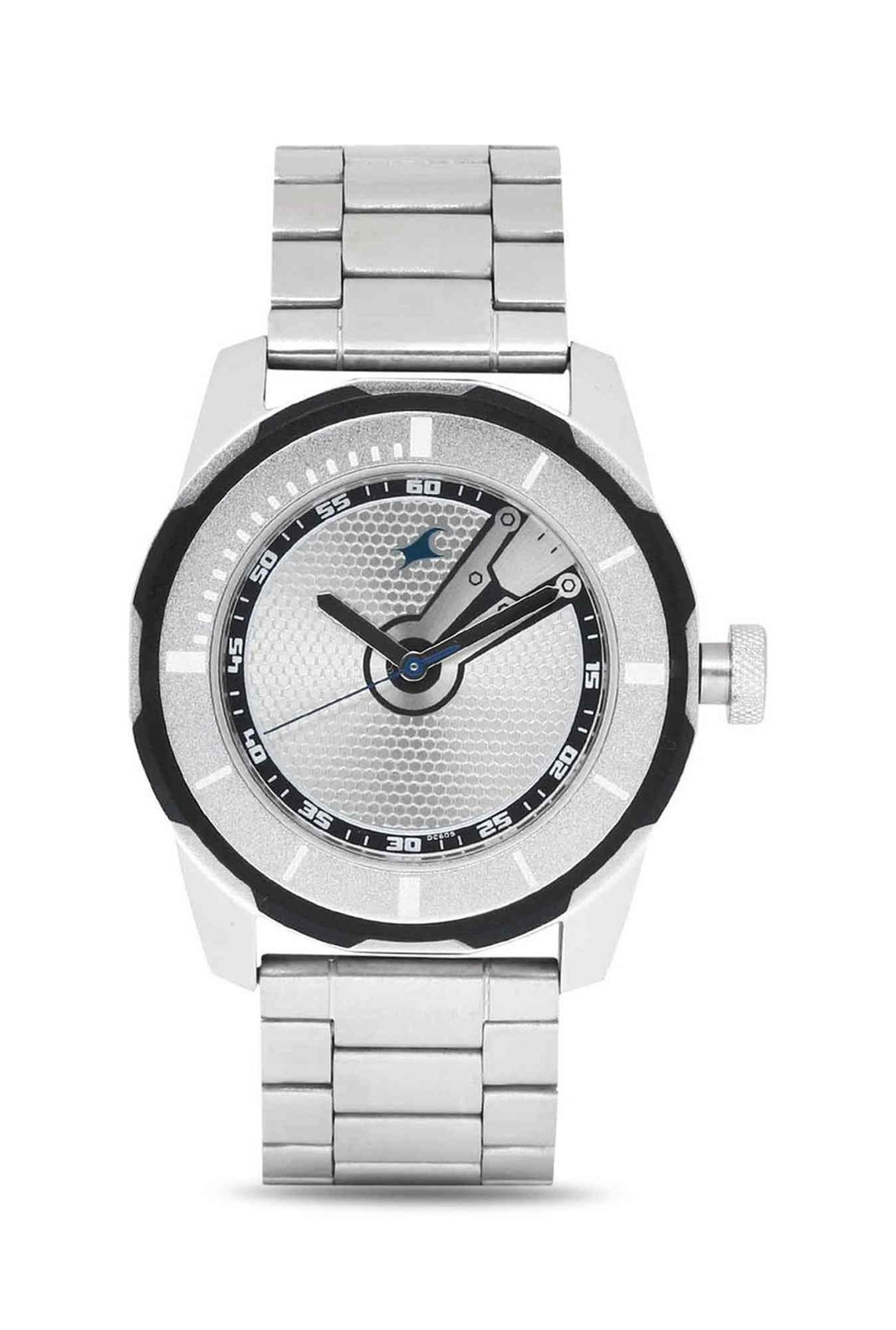Fastrack 3099SM01 Analog Silver Dial Men's Watch