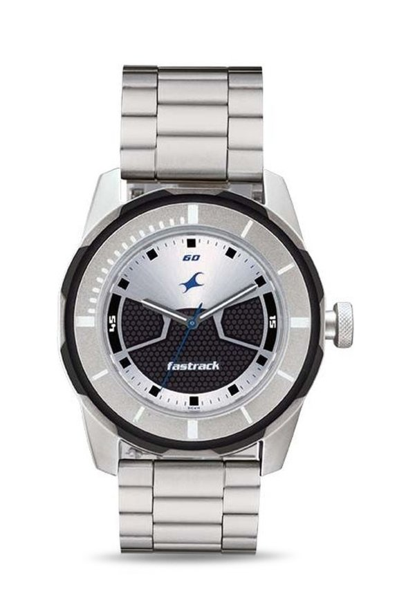 Fastrack 3099SM02 Analog Multi Colour Dial Men's Watch (3099SM02)