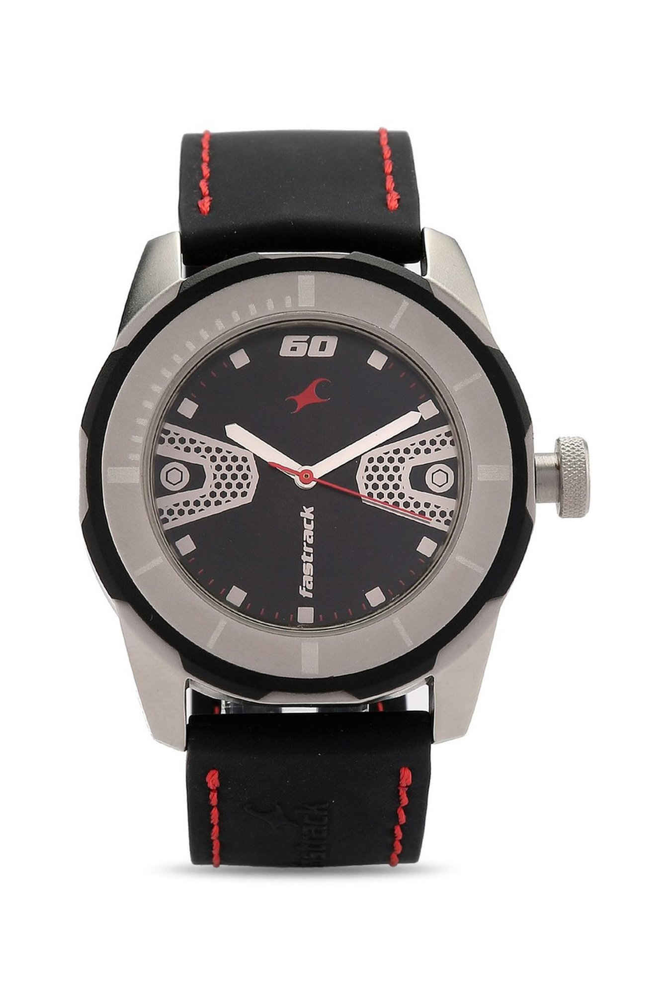 Fastrack NJ3099SP04C Analog Black Dial Men's Watch (NJ3099SP04C)