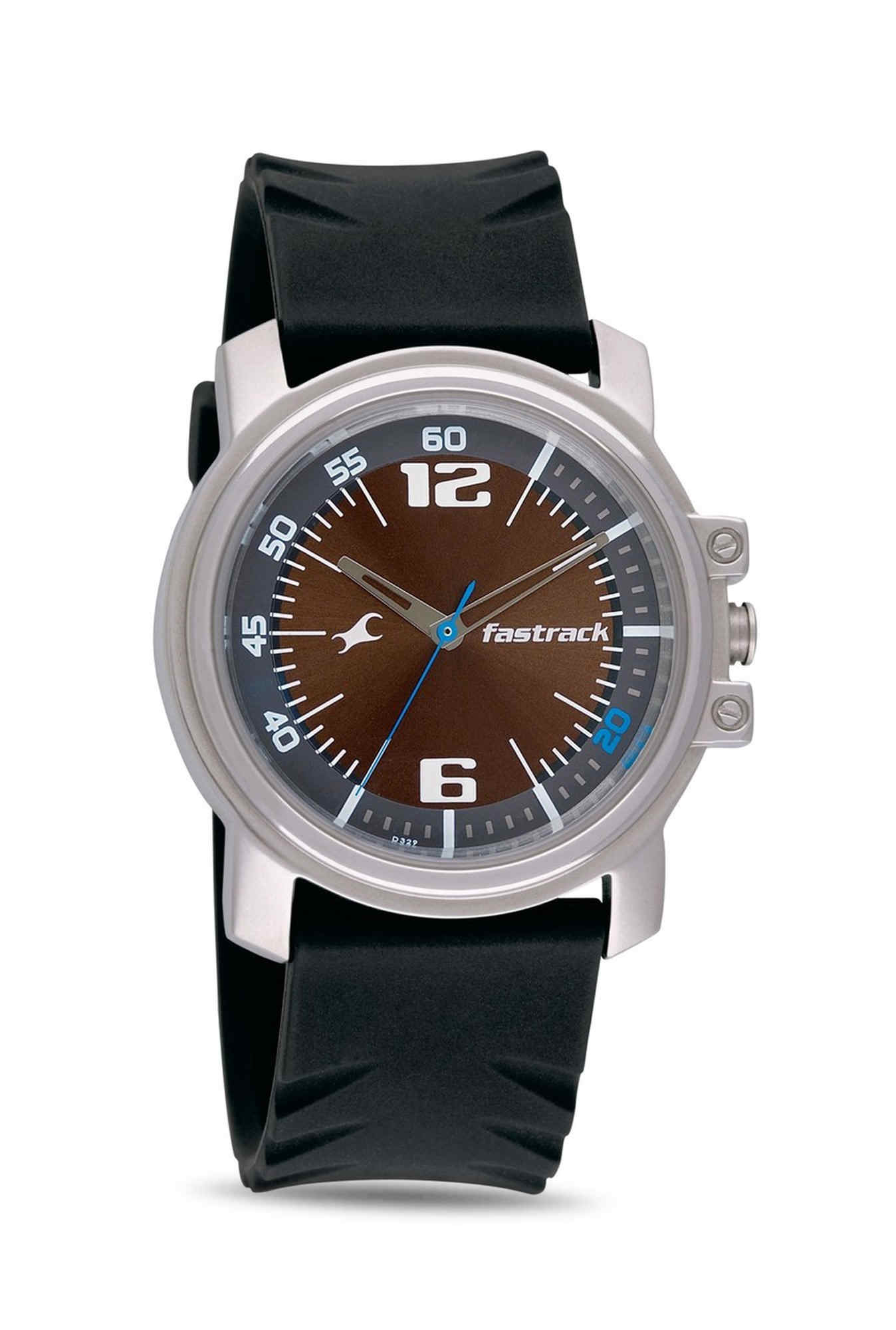 Fastrack NG3039SP01 Men Silver-Toned Analogue Men's Watch