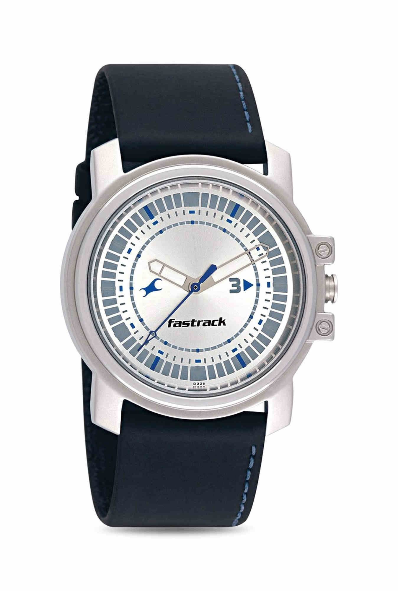 9fc7ad8d5 39% OFF Fastrack NE3039SL01 Economy Analog Silver Dial Men s Watch  (NE3039SL01)