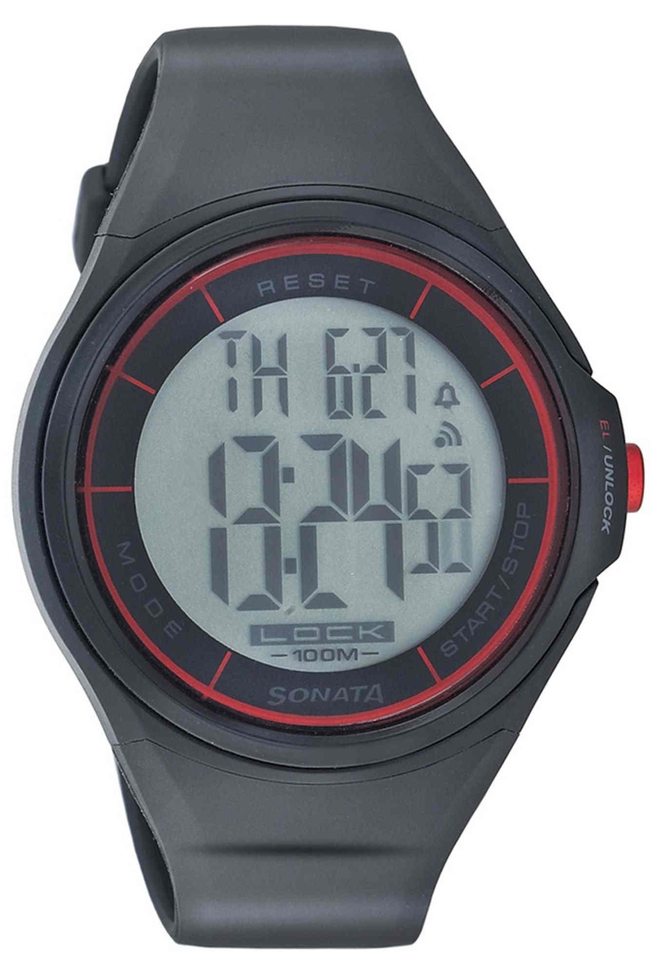 Sonata NH7992PP01J Super Fibre Ocean Digital Watch (NH7992PP01J)