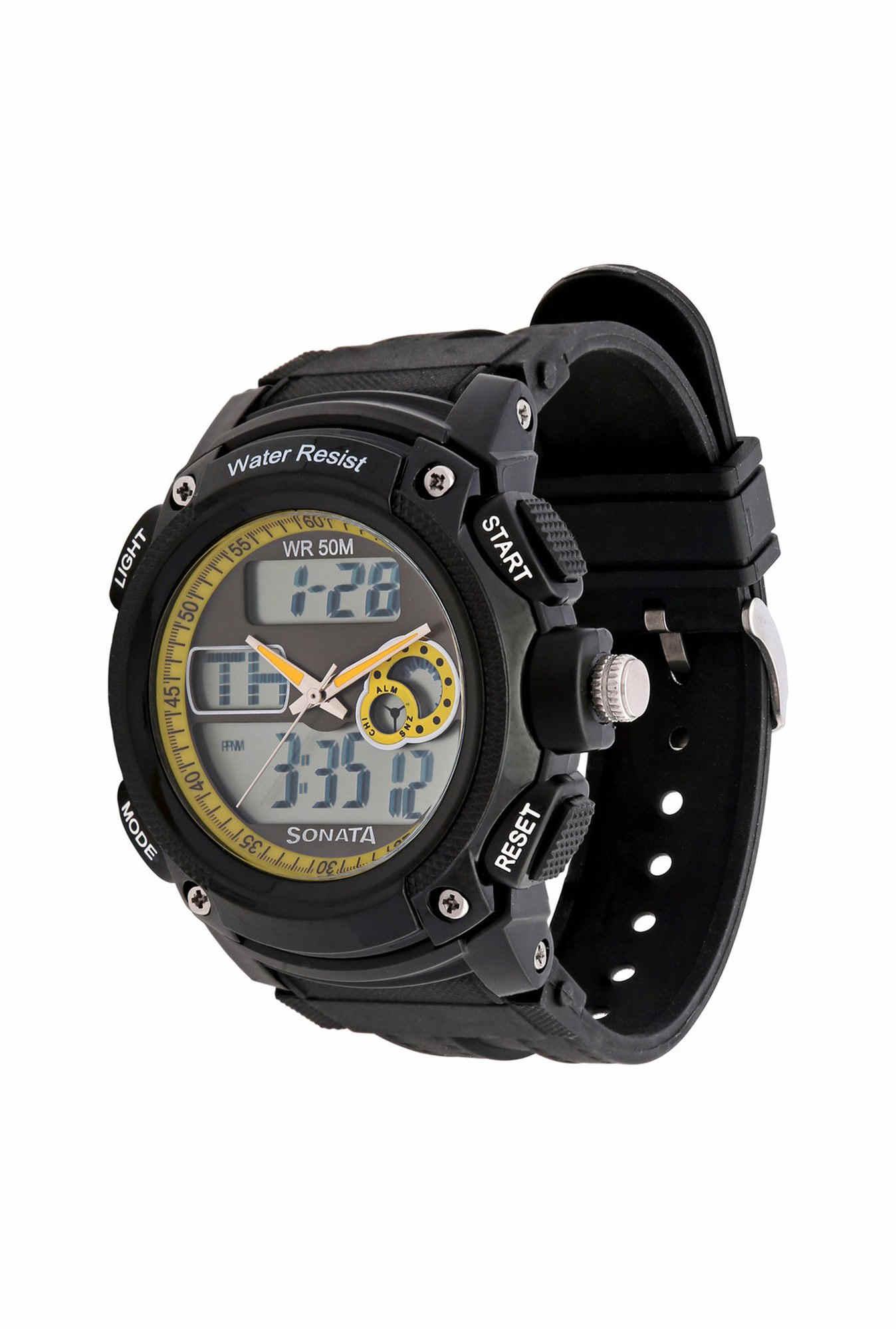 Sonata NH7989PP02J Ocean Series Analog Digital Multi Color Dial Men's Watch (NH7989PP02J)