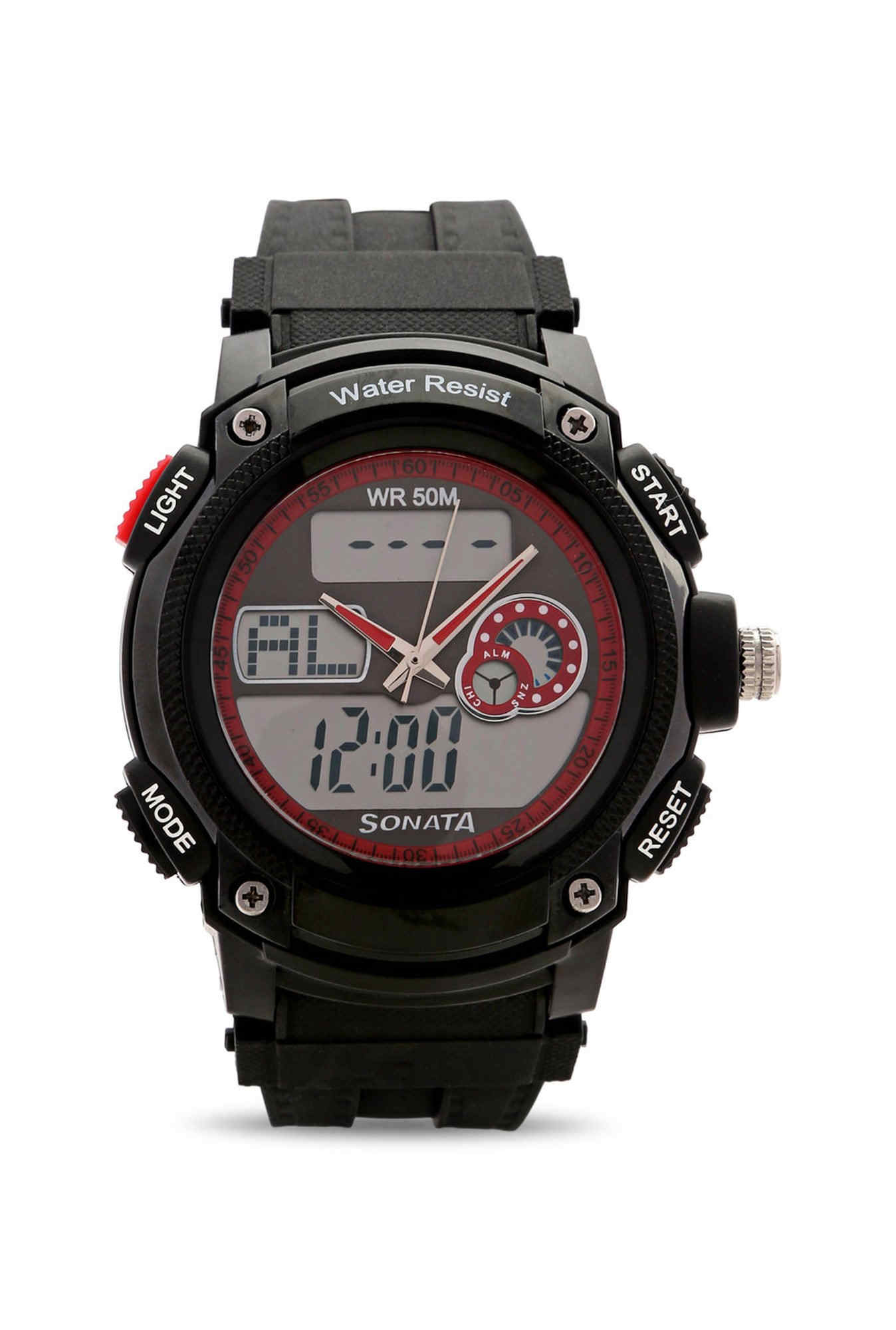 Sonata NH7989PP03J Ocean Analog Digital Multi Color Dial Men's Watch (NH7989PP03J)