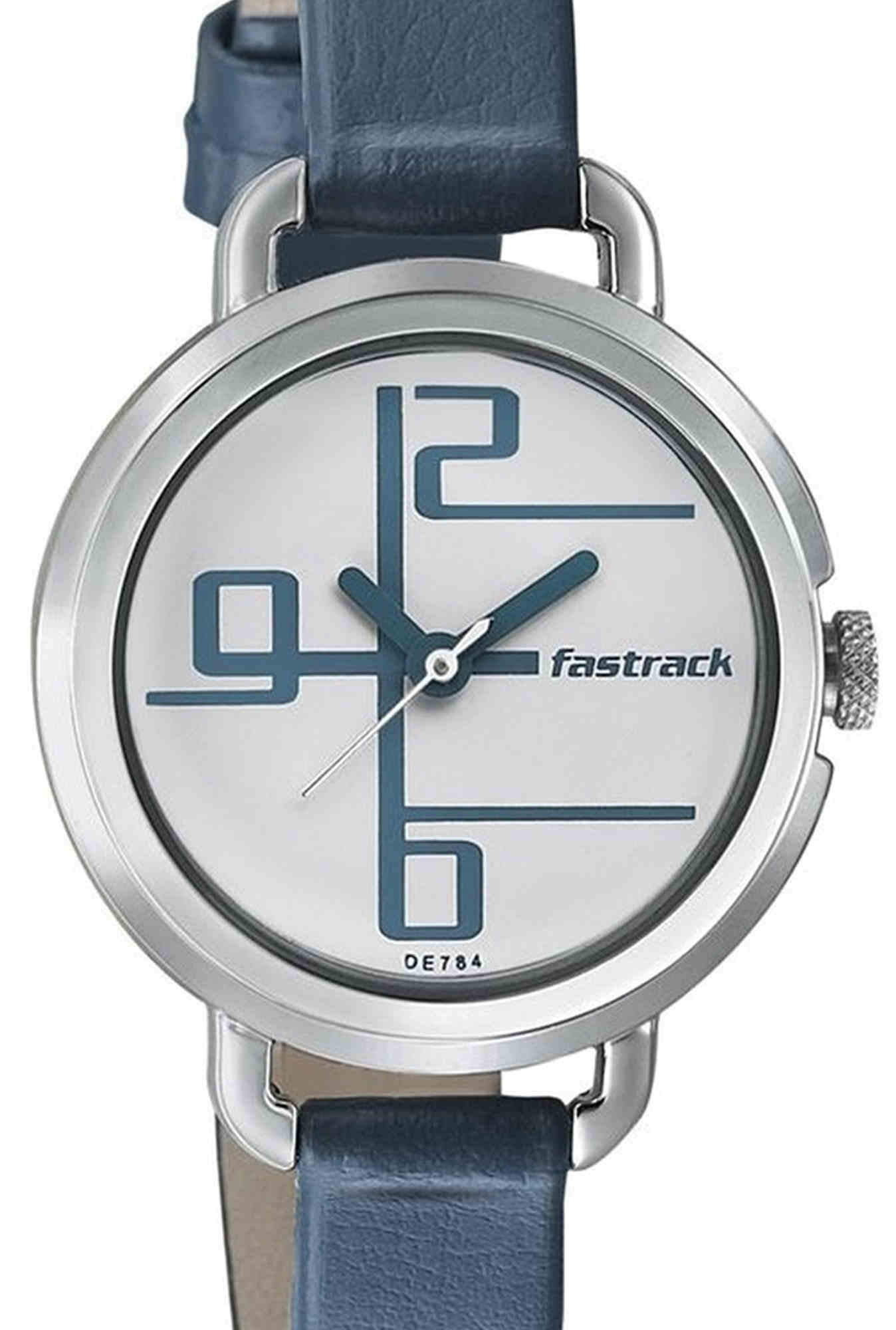 Fastrack NG6123SL01C Storm Analog Women's Watch (NG6123SL01C)