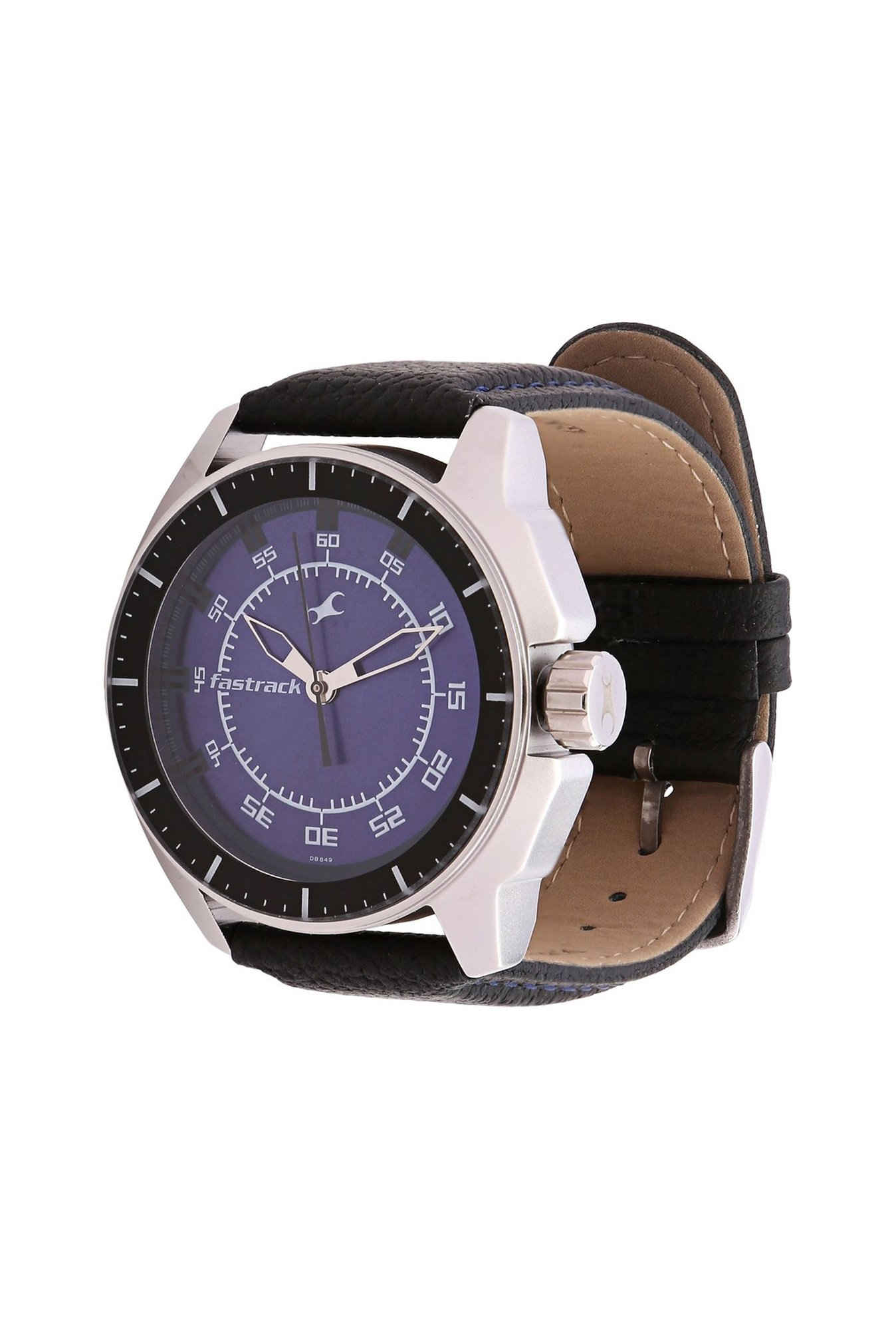 Fastrack NG3089SL01C Black Magic Analog Men's Watch (NG3089SL01C)