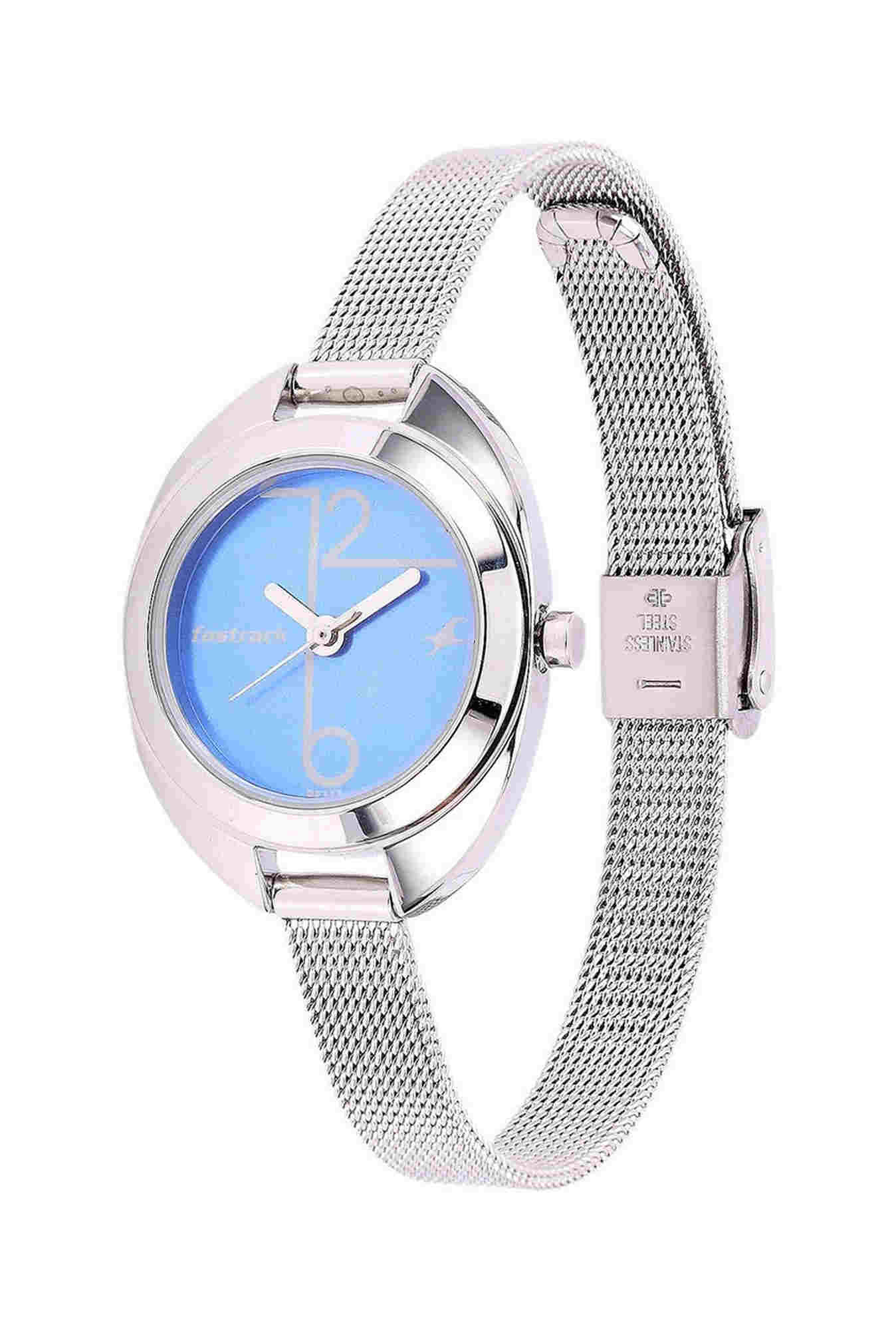 Fastrack 6125SM01 Analog Blue Dial Women's Watch
