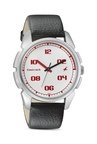 Fastrack 3124SL01 Casual Analog White Dial Men's Watch