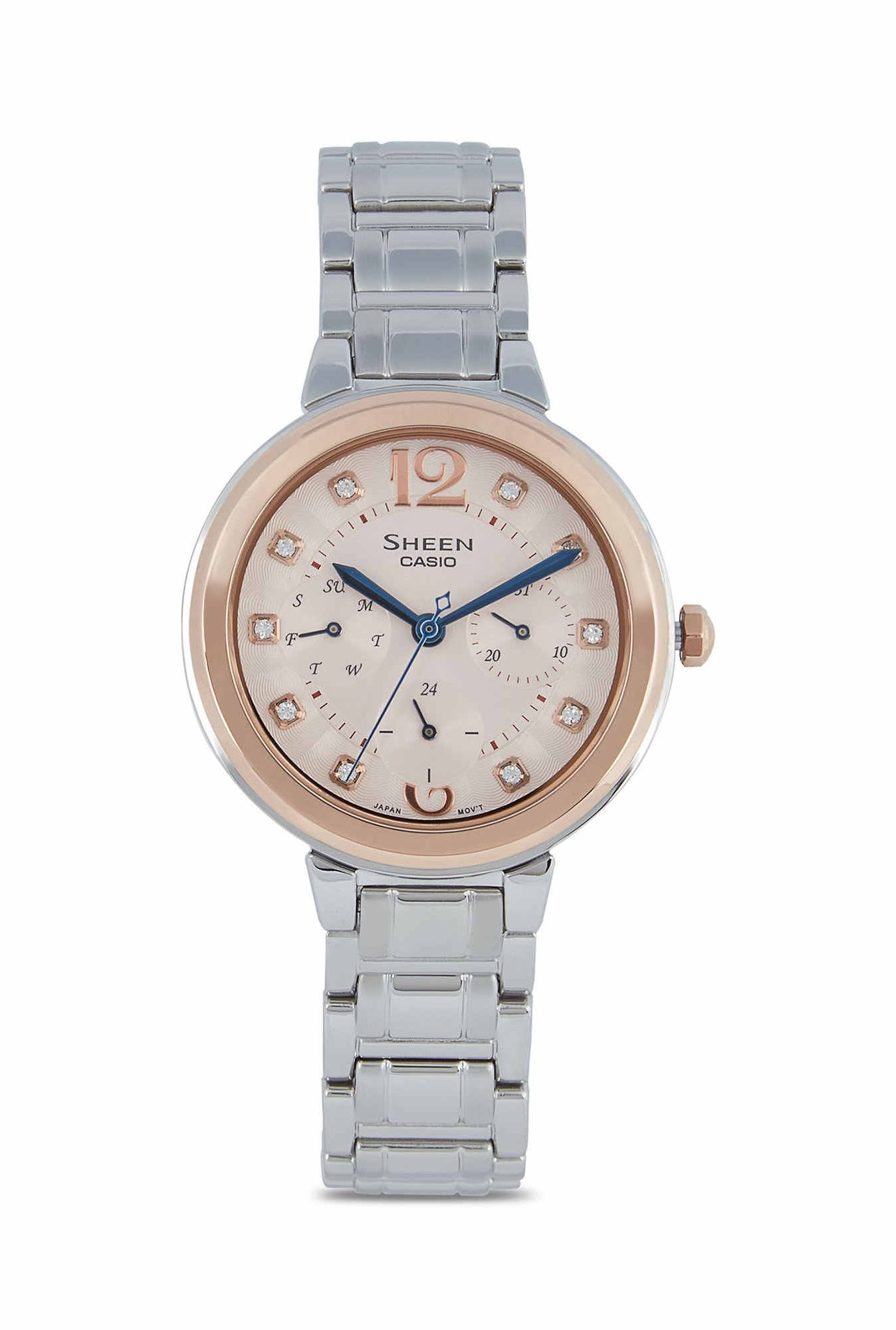 Casio Sheen SHE-3048SG-7AUDR Analog Rose Gold Dial Women's Watch (SHE-3048SG-7AUDR)