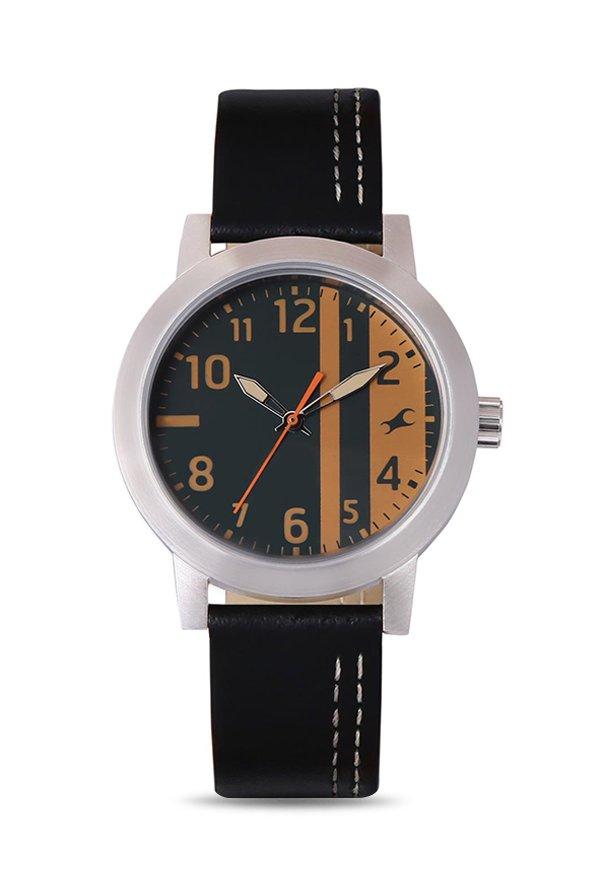 Fastrack NJ3162SL01 Bare Basics Analog Men's Watch (NJ3162SL01)