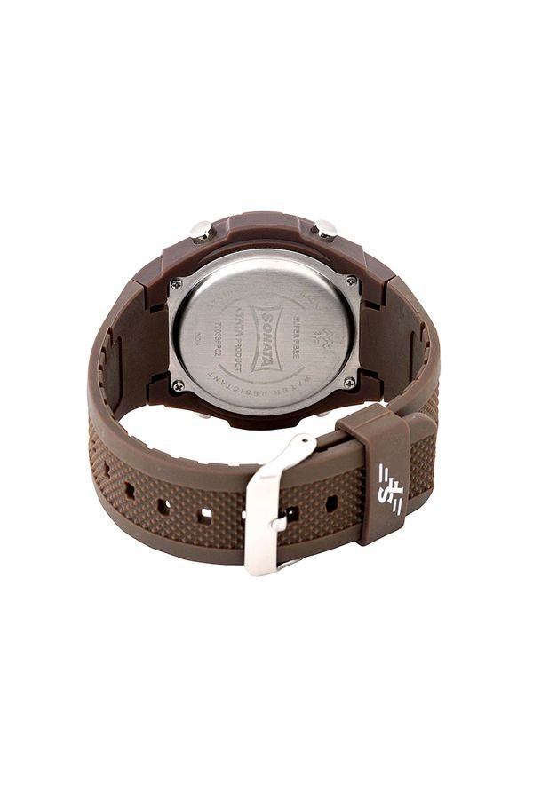 Sonata 77033PP02 Digital Multi Colour Dial Men's Watch (77033PP02)