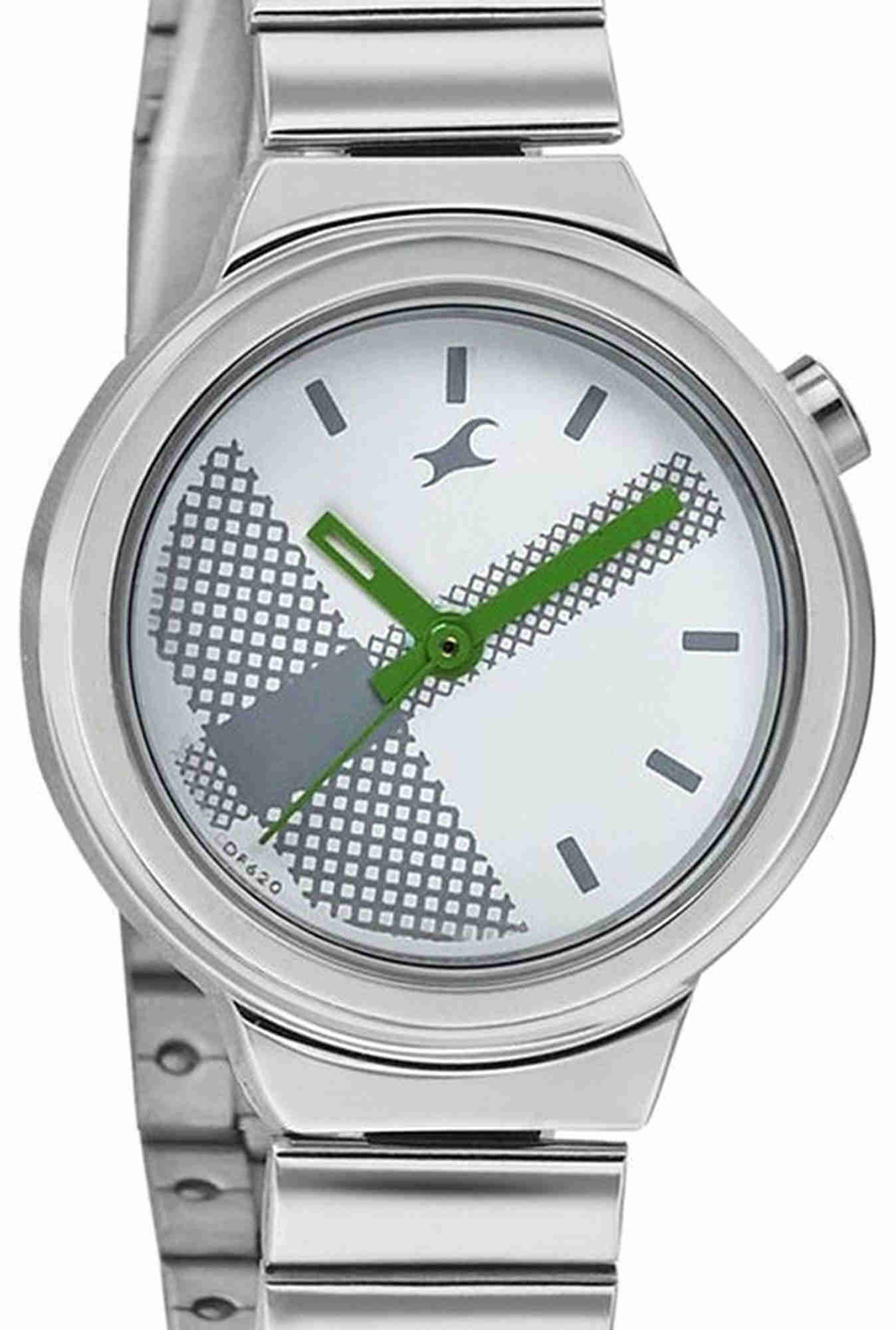 Fastrack NJ6149SM03 Off-White Printed Analogue Women's Watch (NJ6149SM03)