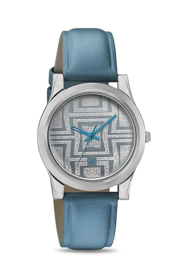 Fastrack NJ6046SL04C Silver Toned Analogue Women's Watch